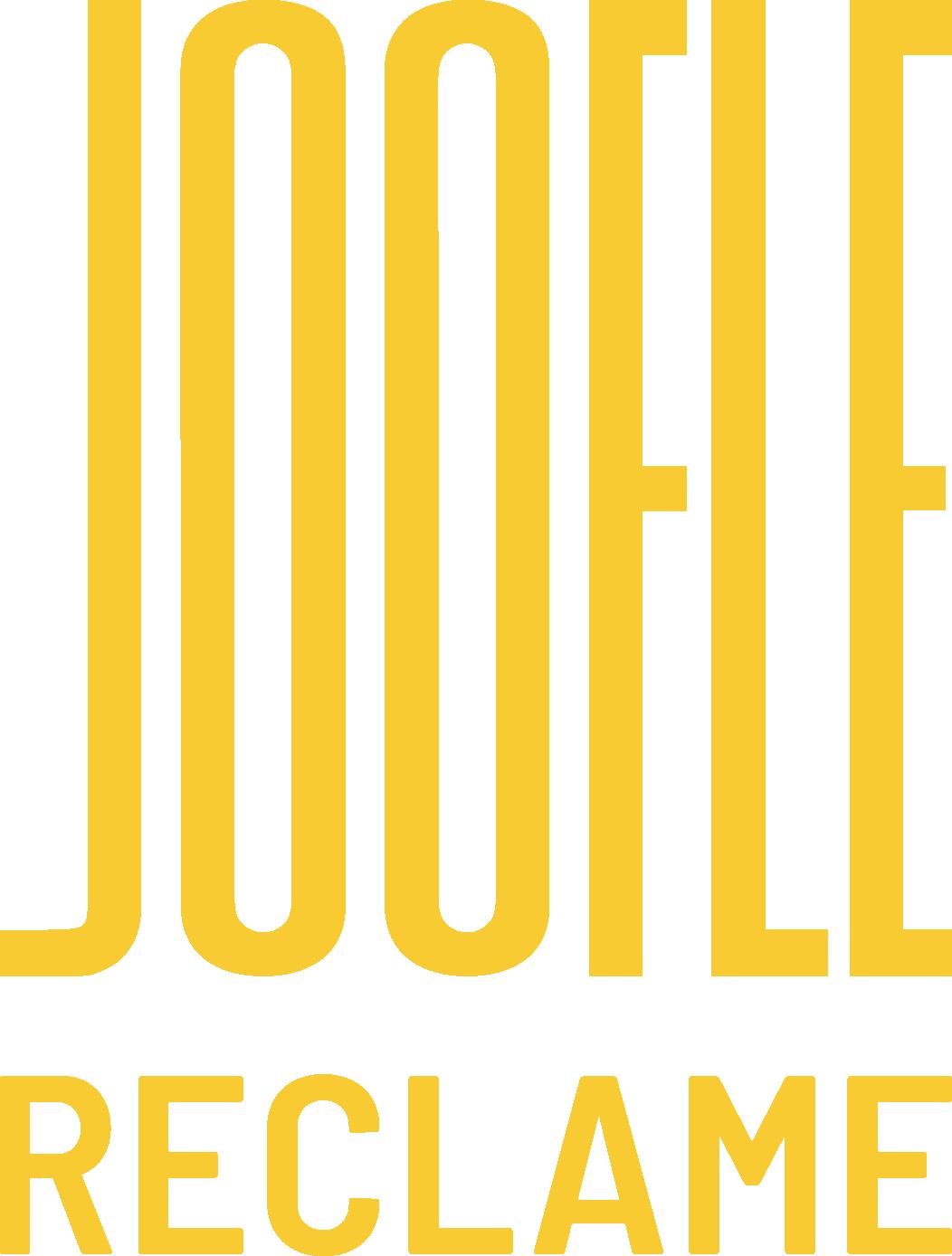 Joofle Brand Reclame Logo Geel